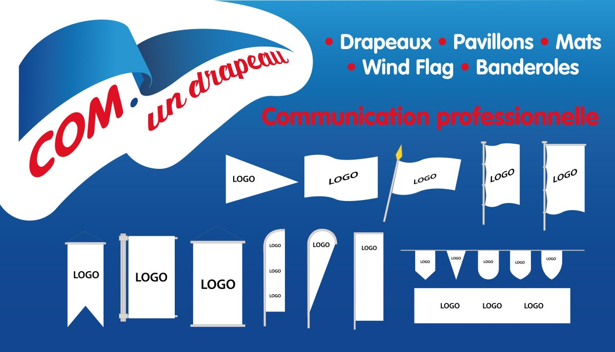 Communication professionnelle - Types de drapeau