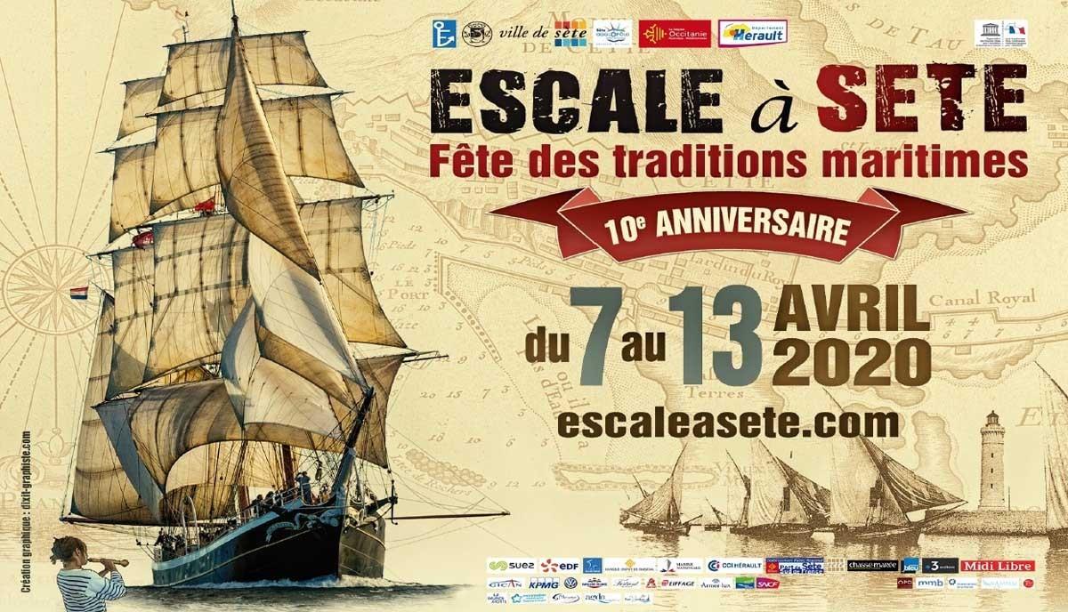 Escale à Sète 2020 - du 7 au 13 Avril 2020